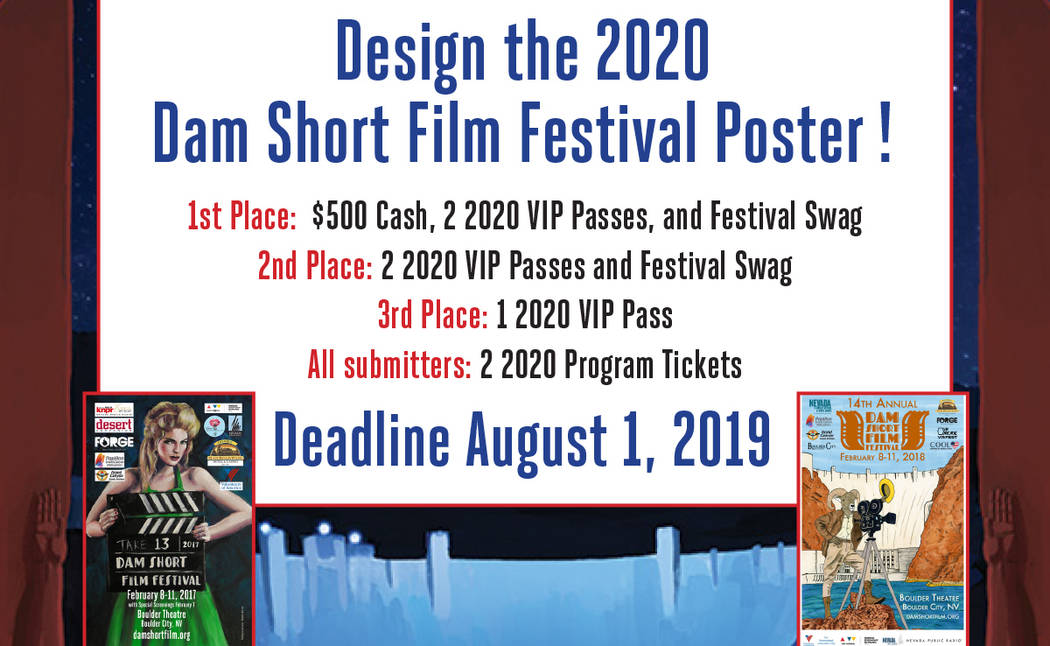 (Dam Short Film Society) Artists are being asked to submit designs for the 2020 Dam Short Film ...