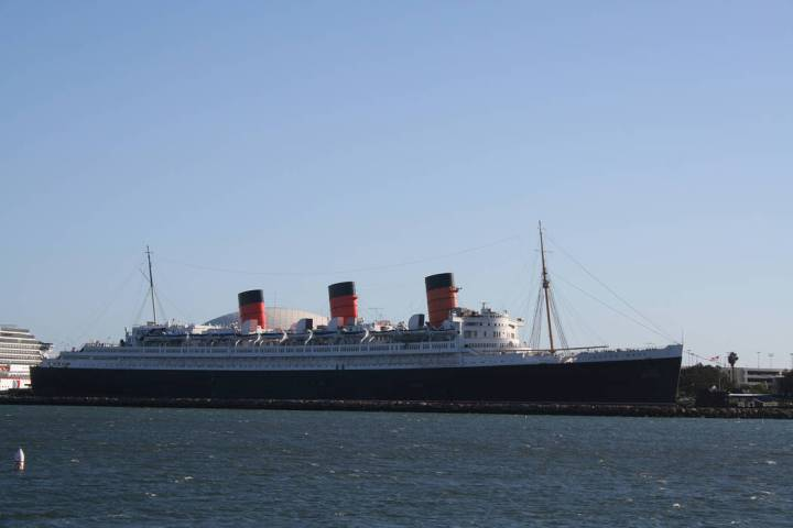 (Deborah Wall) The Queen Mary is permanently docked in Long Beach, California. Put into service ...