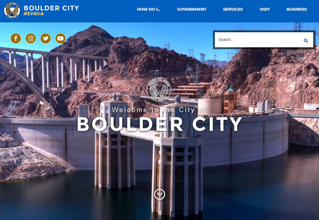 (Boulder City) The city's redesigned website is now live and is easier for residents to use.