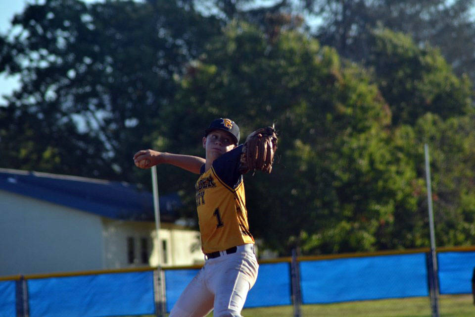 (Boulder City Little League) Boulder City Little League picture Jeremy Spencer throws a pitch d ...