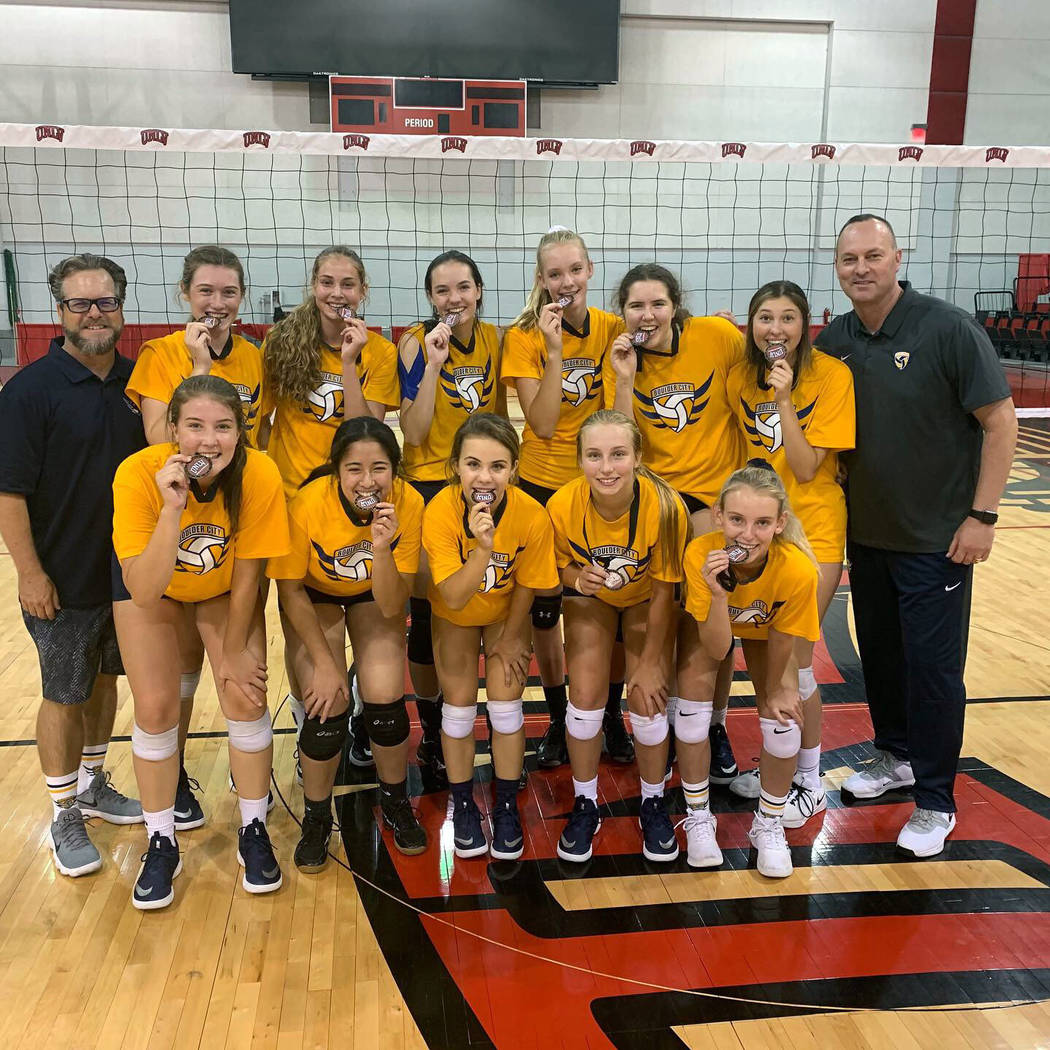 (Kurt Bailey) Continuing their winning way, Boulder City, the two-time defending 3A state champ ...