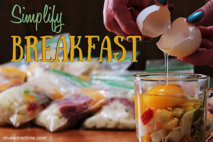 (Patti Diamond) By preparing breakfast kits in advance and freezing them, the morning chaos bef ...