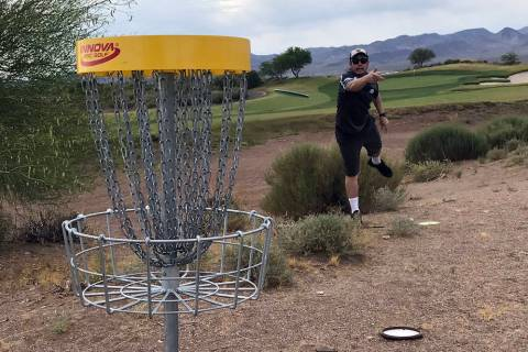 (Boulder Creek Golf Club) People in Boulder City can now play disc golf at the newly installed ...