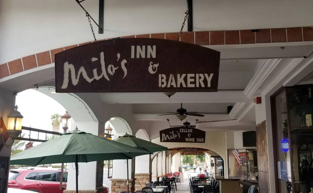 Celia Shortt Goodyear/Boulder City Review Milo's Restaurant & Cellar is part of Boulder City Be ...