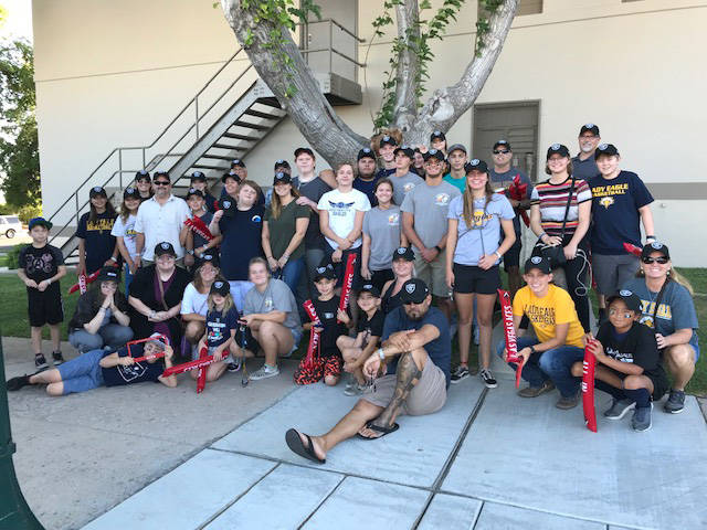 (Kelly Lehr) Members of Boulder City Parks and Recreation Department's youth basketball progr ...