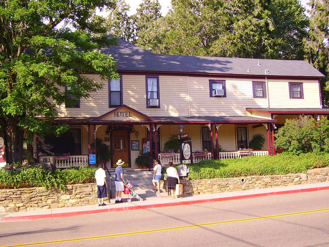 (Deborah Wall) The Julian Gold Rush Hotel in Julian, California, is now a bed and breakfast. It ...