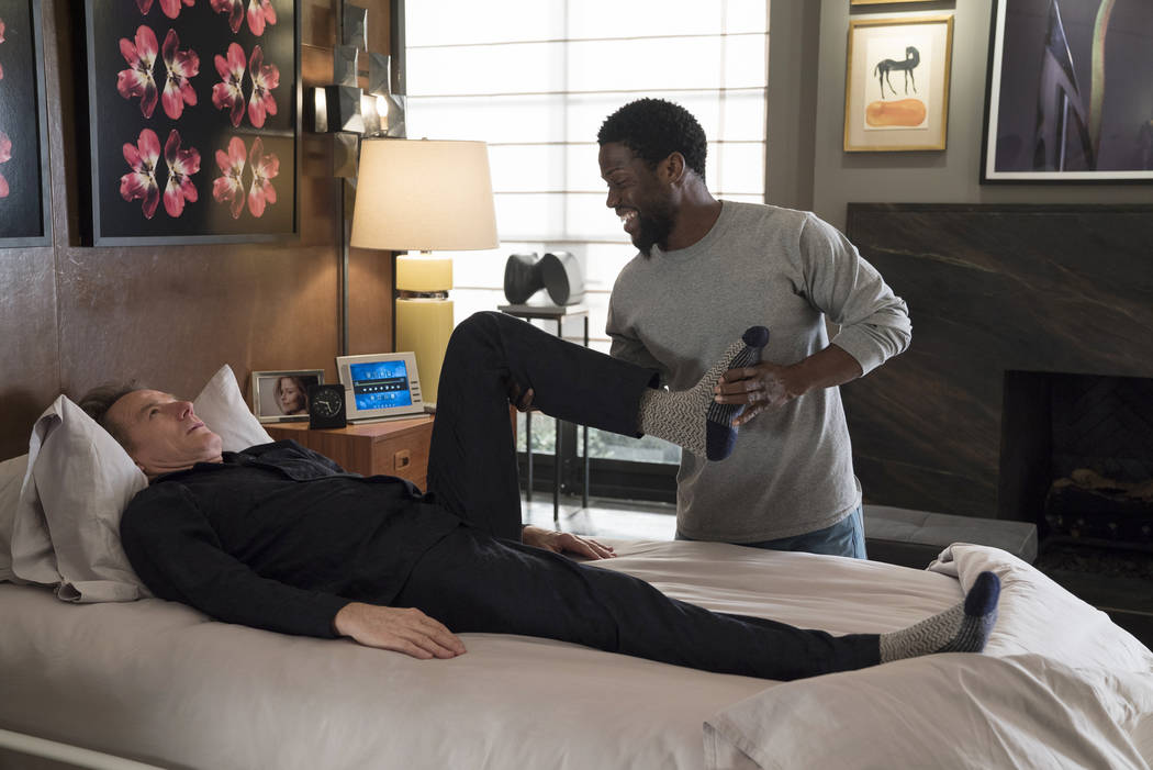"""Bryan Cranston, left, and Kevin Hart star in """"The Upside"""" by STXFilms. It will be shown Friday, ..."""