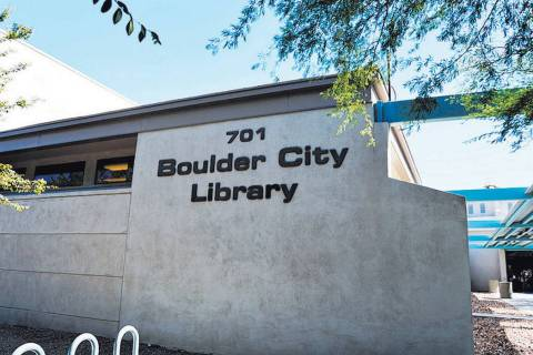 The Boulder City Library Board of Trustees is holding a party at 6 p.m. Sept. 18 to celebrate p ...