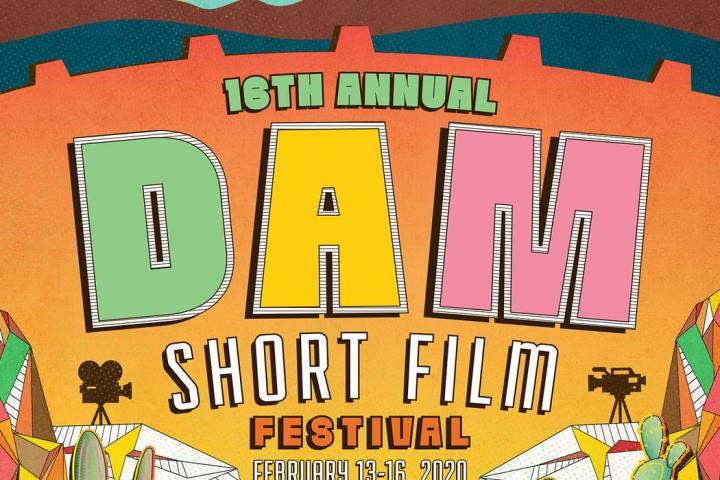 (Dam Short Film Festival) Eric Vozzola of Las Vegas created the winning poster for the 2020 Dam ...