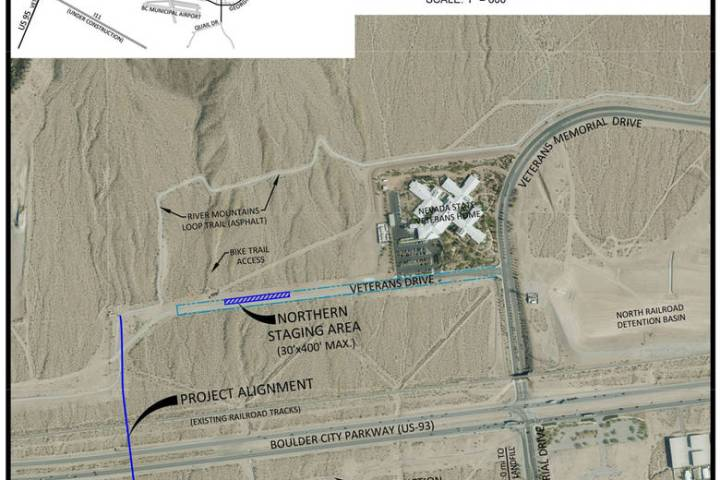 Boulder City Boulder City will not have to do a third phase of the Eldorado Valley waterline ex ...
