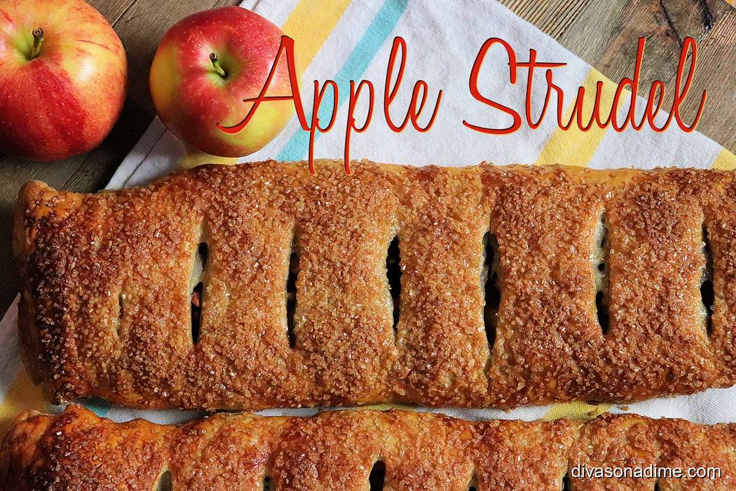(Patti Diamond) Apple strudel evokes fall with it's spices and apples baked inside a flaky pa ...