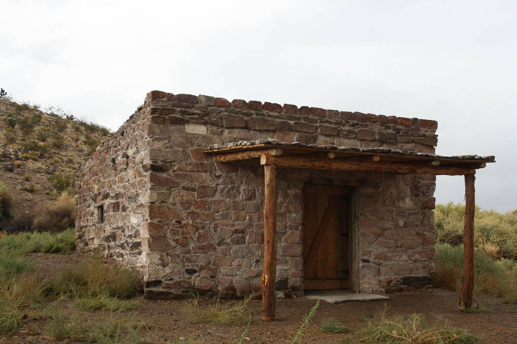 (Deborah Wall) The Walden House, known as the Petroglyph Cabin, was built by pioneers around 18 ...