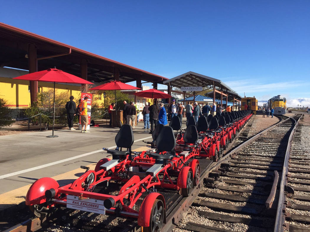 (Rail Explorers) Rail Explorers recently expanded its operations in Boulder City to year-round. ...