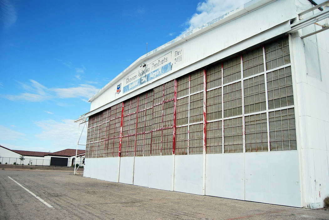 Bullock Field, which includes an airport hangar and runway, could be designated as a historic d ...