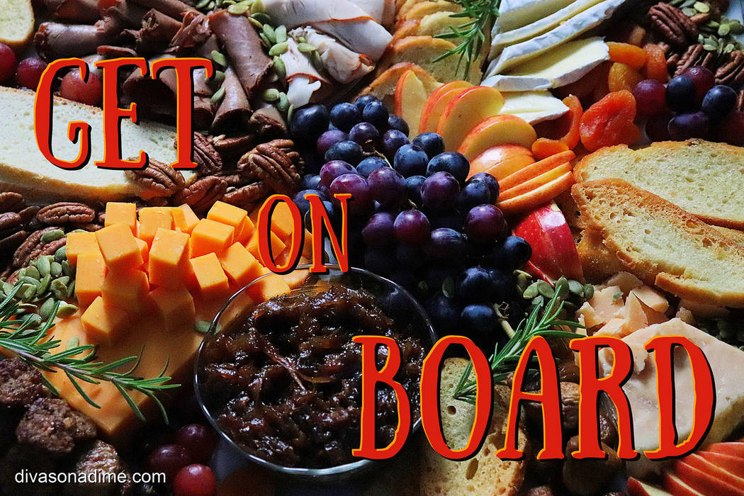(Patti Diamond) By taking advantage of sales and seasonal fruits, you can create a charcuterie ...