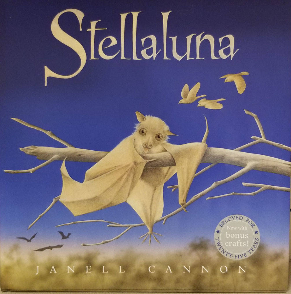 "(Celia Shortt Goodyear/Boulder City Review) ""Stellaluna,"" a story about young bat ..."