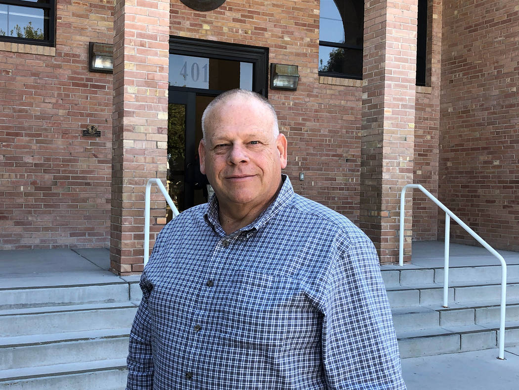 """(Boulder City) Frederick """"Willy"""" Williamson is the new manager of the Boulder City Municipa ..."""