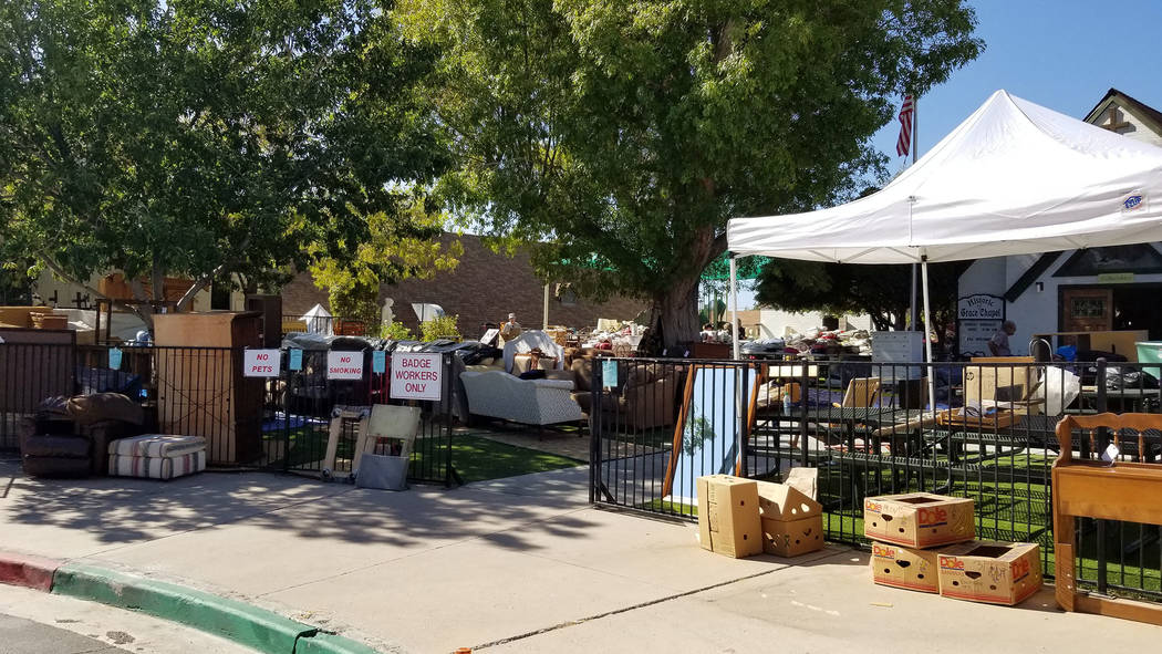 (Celia Shortt Goodyear/Boulder City Review) Grace Community Church's 72nd annual Country Store ...