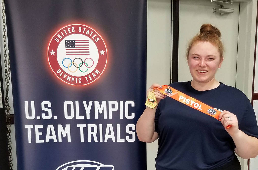 "Lexi Lagan Alexis ""Lexi"" Lagan came in first place in women's sport pistol at the phase one com ..."