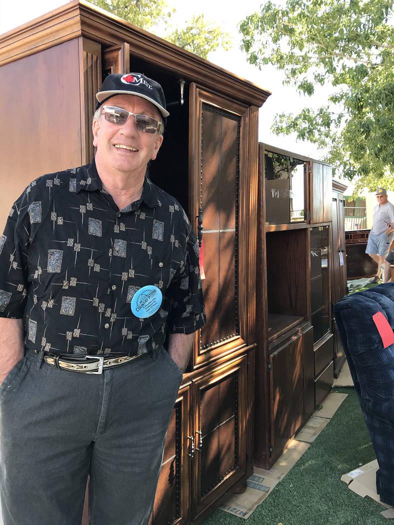 (Hali Bernstein Saylor/Boulder City Review) David Graham, pastor of Grace Community Church, was ...
