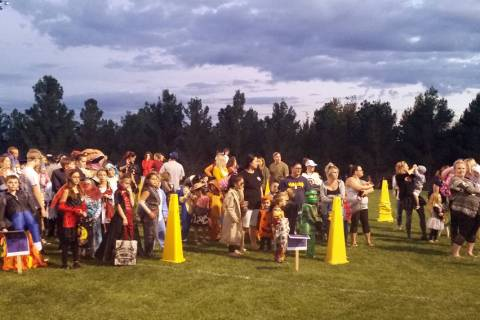 A costume contest is one of the highlights of Trunk or Treat, which will be presented by the Bo ...
