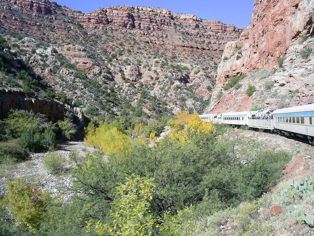 (Deborah Wall) The rich riparian environment of the Verde River in Arizona supports a variety o ...