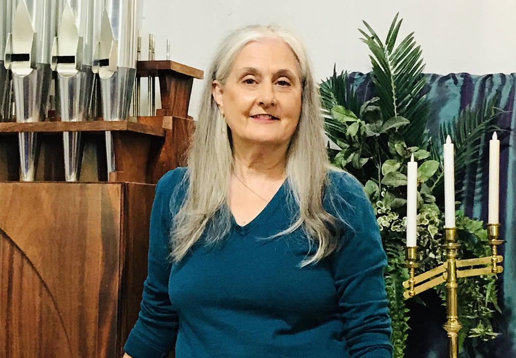 (Hali Bernstein Saylor/Boulder City Review) Francyl Gawryn, associate pastor for Grace Communit ...