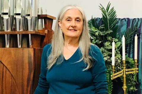 (Hali Bernstein Saylor/Boulder City Review) Francyl Gawryn, associate pastor for Grace Communit ...