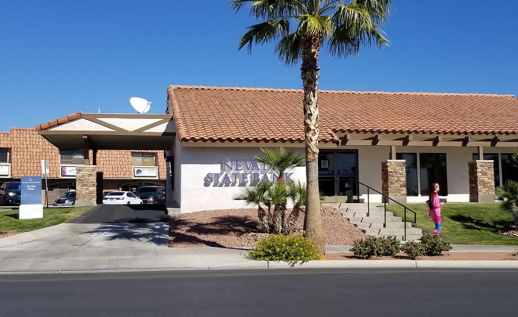 Celia Shortt Goodyear/Boulder City Review Boulder City's Nevada State Bank, 1000 Nevada Way, is ...
