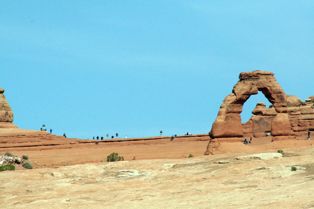(Deborah Wall) Delicate Arch is one of the most photographed arches in the world. Located in Ar ...