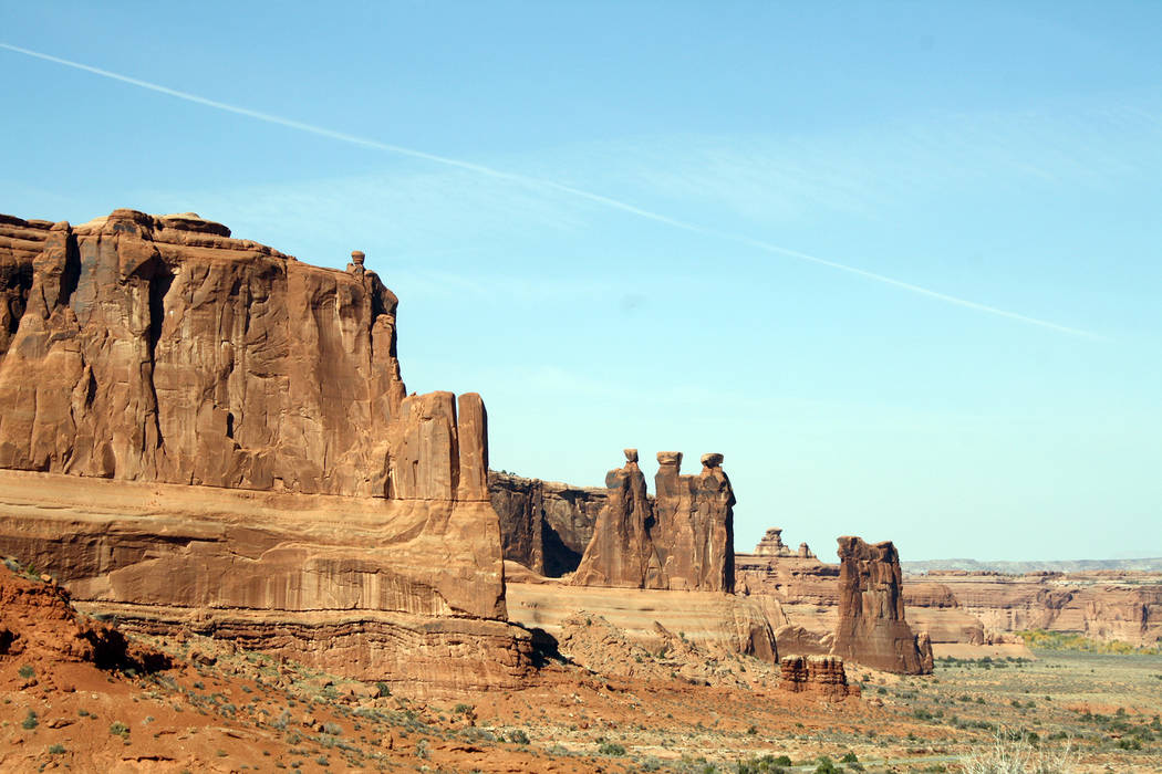 (Deborah Wall) Besides more than 2,000 arches in the Arches National Park, the Utah recreation ...