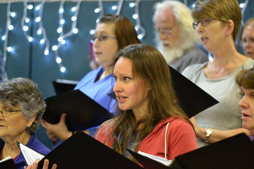 """Strokes of Genius"" will be presented by the Red Mountain Choir at 7 p.m. Nov. 15 and 16, at th ..."