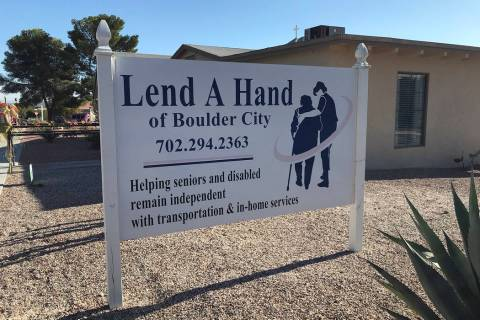 (Hali Bernstein Saylor/Boulder City Review) Lend A Hand of Boulder City, which is at 400 Utah S ...