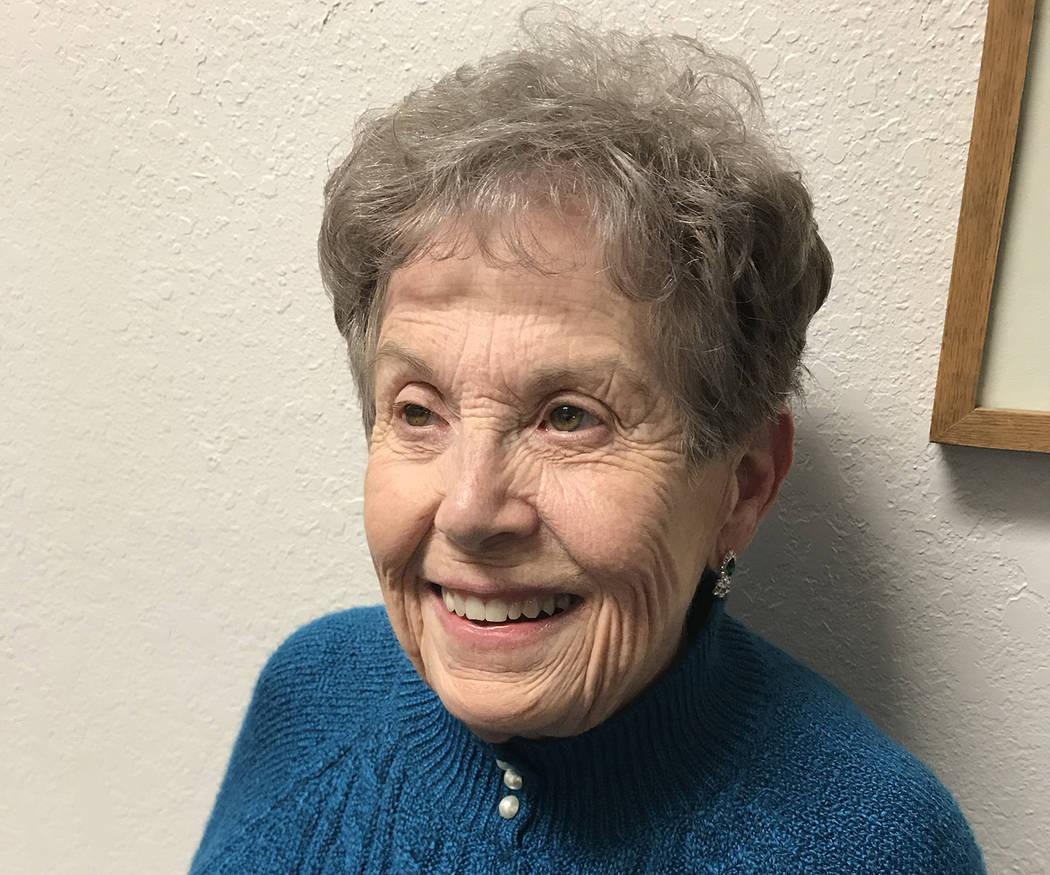 (Hali Bernstein Saylor/Boulder City Review) Judith Hoskins was appointed to the Boulder City Co ...