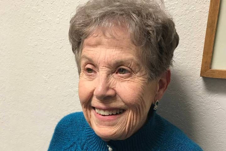 (Hali Bernstein Saylor/Boulder City Review) Judith Hoskins was appointed to the Boulder City Co ...
