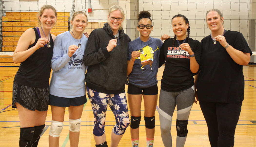 (Kelly Lehr) Members of That What She Set, from left, Sarah Gorsuch, Camis Higbee, Kimberly Str ...