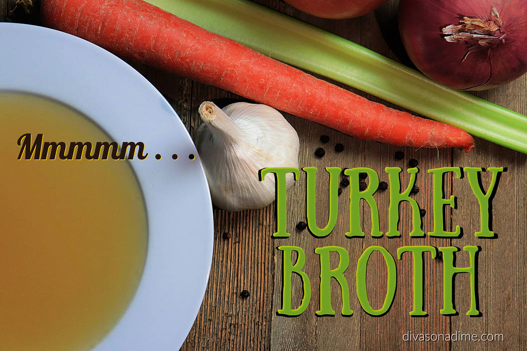 (Patti Diamond) Use your turkey carcass/frame to create a rich and healthy stock or broth. The ...