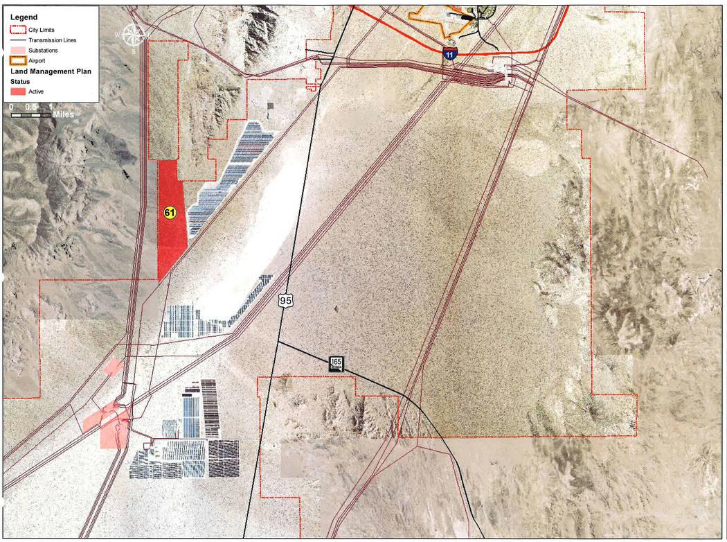 Boulder City The Planning Commission is recommending to City Council that a 1,275-acre parcel ...