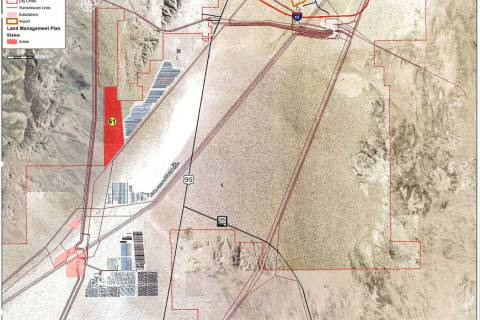 Boulder City The Planning Commission is recommending to City Council that a 1,275-acre parcel ...