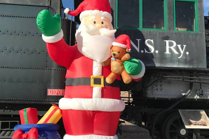Children of all ages will delight in Friends of Nevada Southern Railway's annual Pajama Train, ...