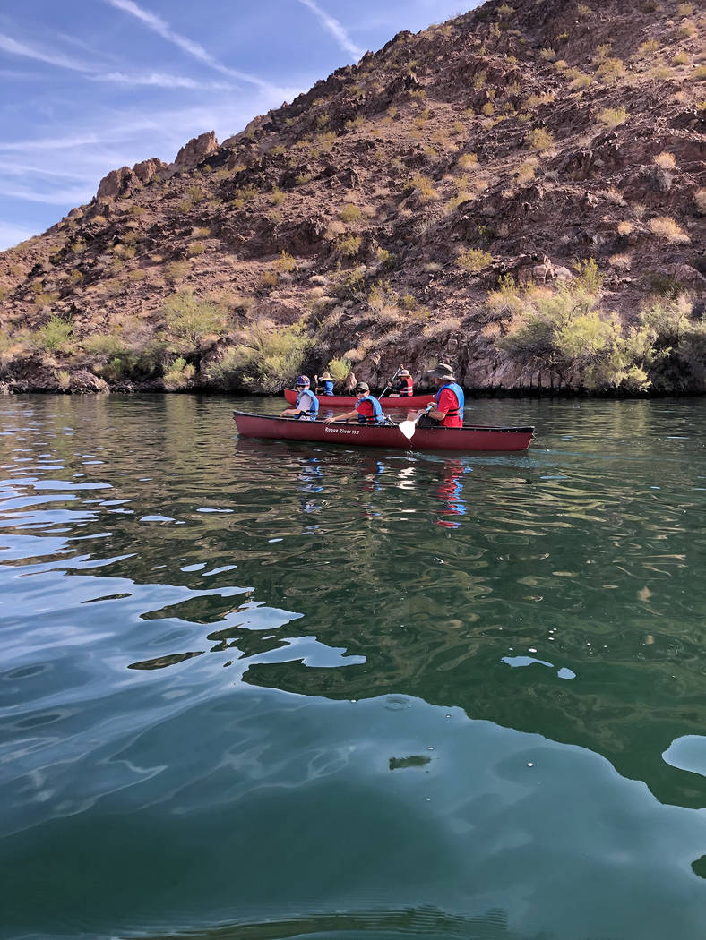 (Brent Solberg) Adventures are part of the activities offered to members of Boy Scout Troop 7 o ...
