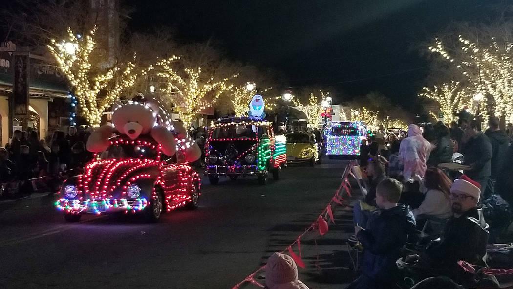 Celia Shortt Goodyear/Boulder City Review Several Volkswagen Beetles made their way down Nevada ...