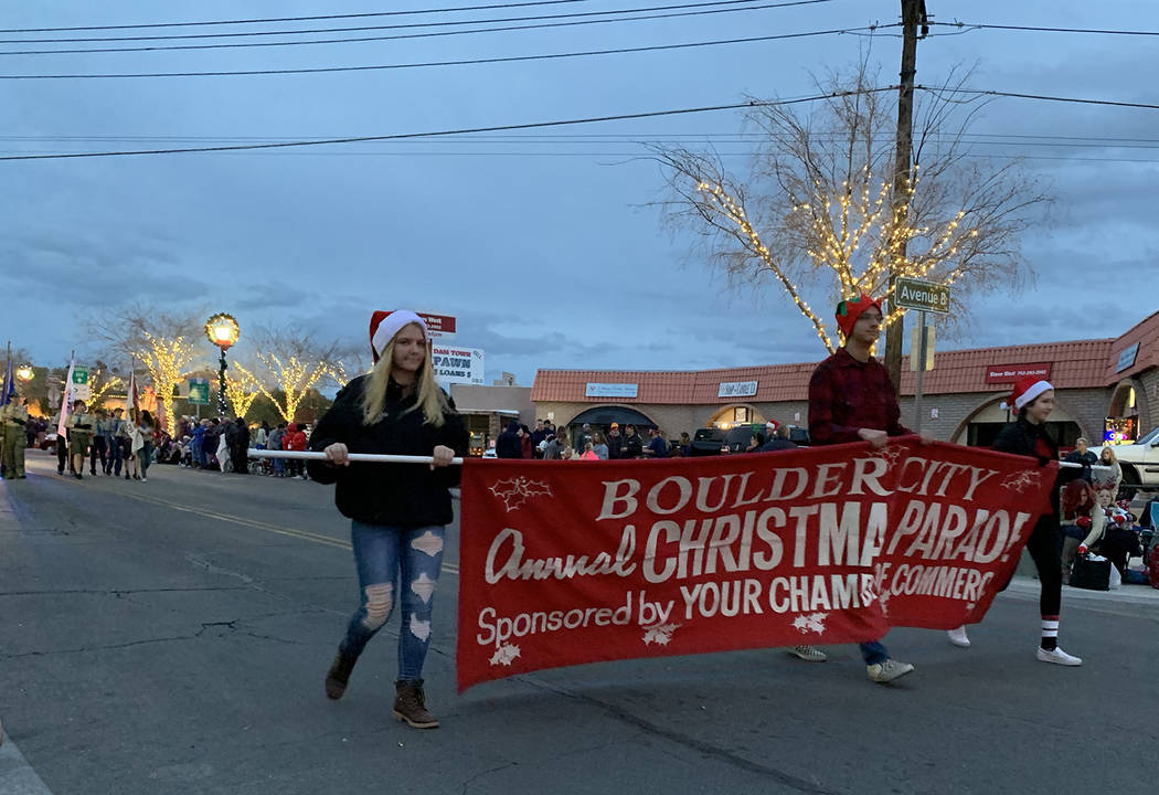 (Hali Bernstein Saylor/Boulder City Review) Boulder City Chamber of Commerce presented the 48th ...
