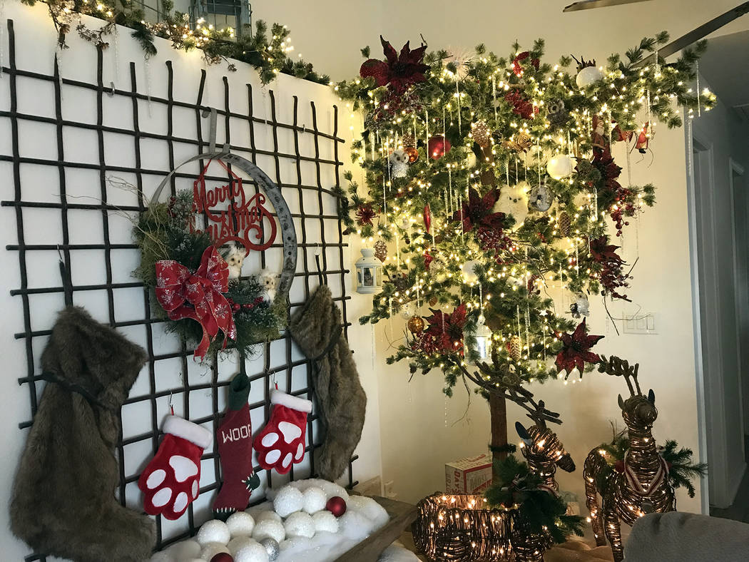 Homes decorated for the holidays will be featured on the American Association of University Wom ...