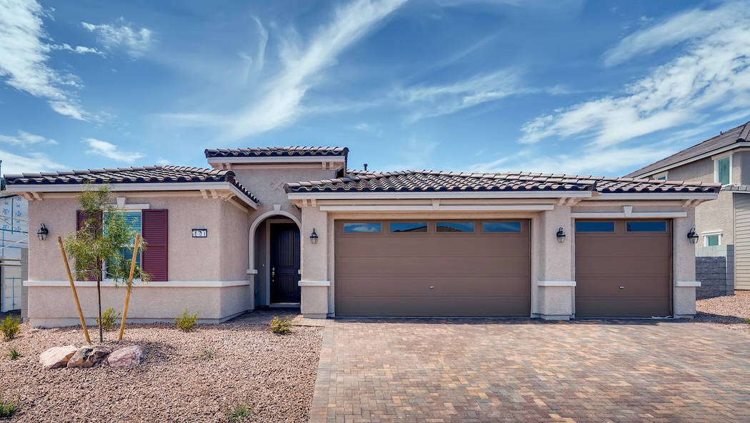 (StoryBook Homes) StoryBook Homes opened the second phase of its Boulder Hills Estates neigborh ...