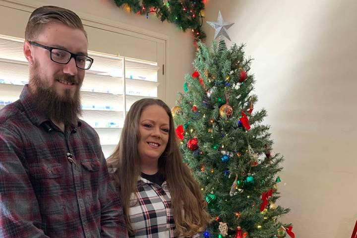 (Hali Bernstein Saylor/Boulder City Review) Steven Thompson and Cheryl Atkinson, office and gen ...