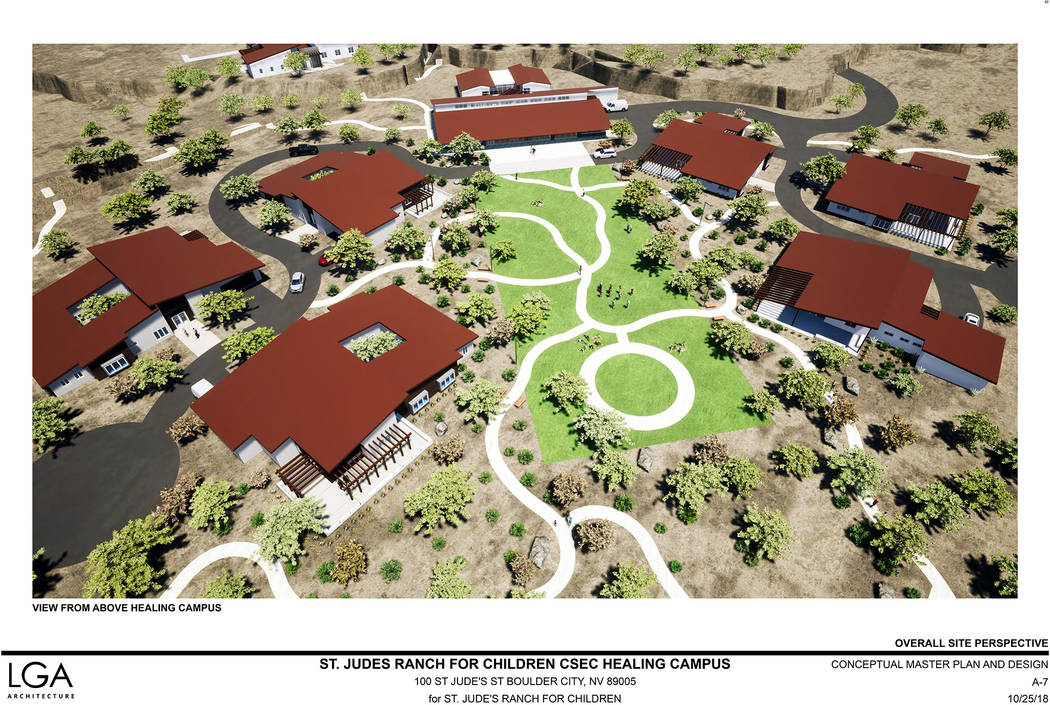 (Boulder City) St. Jude's Ranch for Children in Boulder City is planning to develop 10 acres of ...