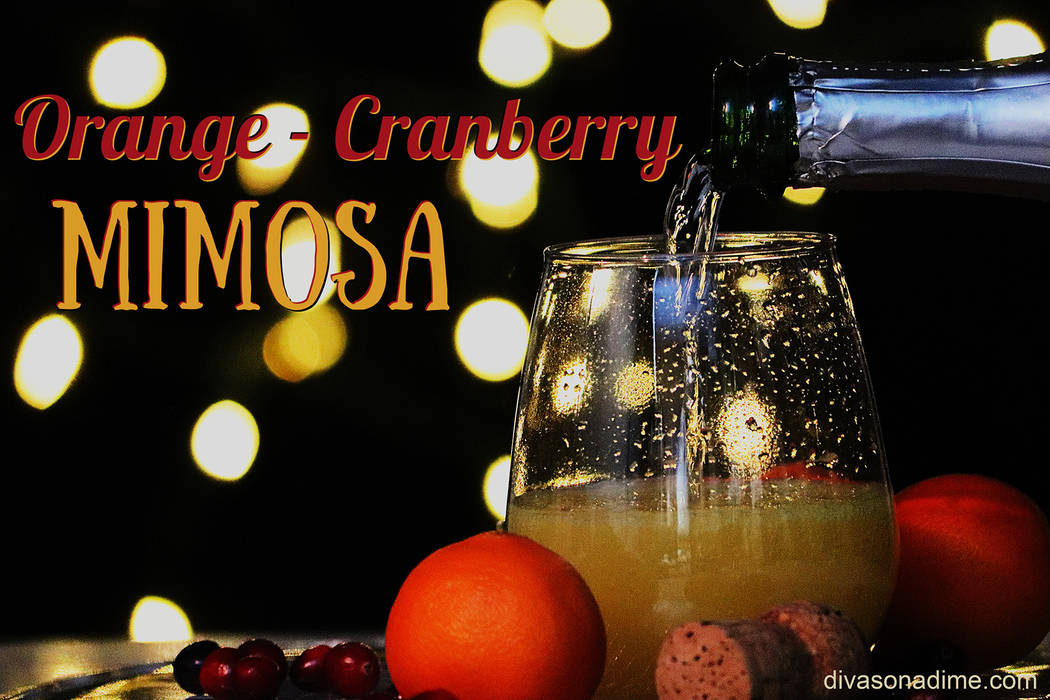 (Patti Diamond) Set up a mimosa bar so guests can mix their own drinks and you can mix and ming ...