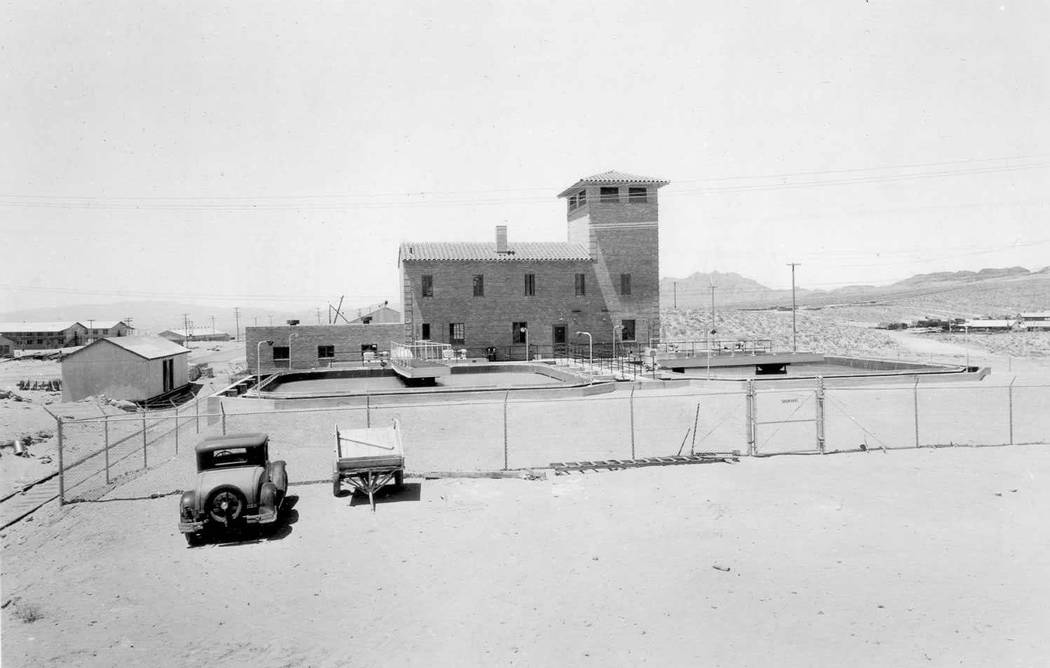 (Boulder City) The original water treatment filtration plant was built in 1932 at 300 Railroad ...