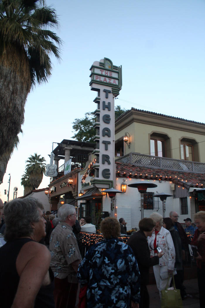 (Deborah Wall) Crowds descend on Palm Springs in California each January for the Palm Springs I ...